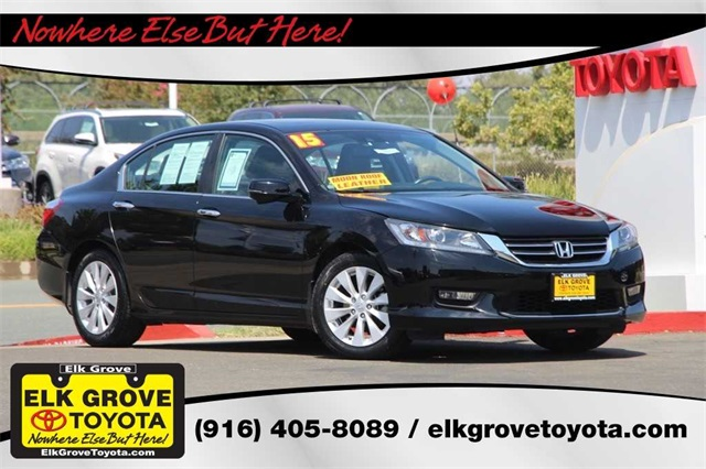 Exceptional Pre Owned 2015 Honda Accord EX L
