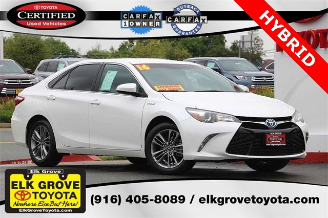 Certified Pre Owned 2016 Toyota Camry Hybrid Se