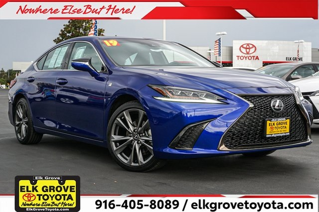 Pre Owned 2019 Lexus Es 350 F Sport 4d Sedan In Elk Grove E27773 Elk Grove Toyota