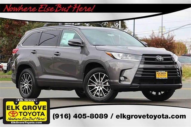 new 2018 toyota highlander se 4d sport utility in elk grove 119092
