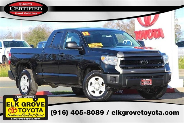 certified pre-owned 2017 toyota tundra sr 4d double cab in elk grove