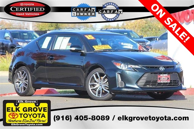 Certified Pre-Owned 2015 Scion tC Base